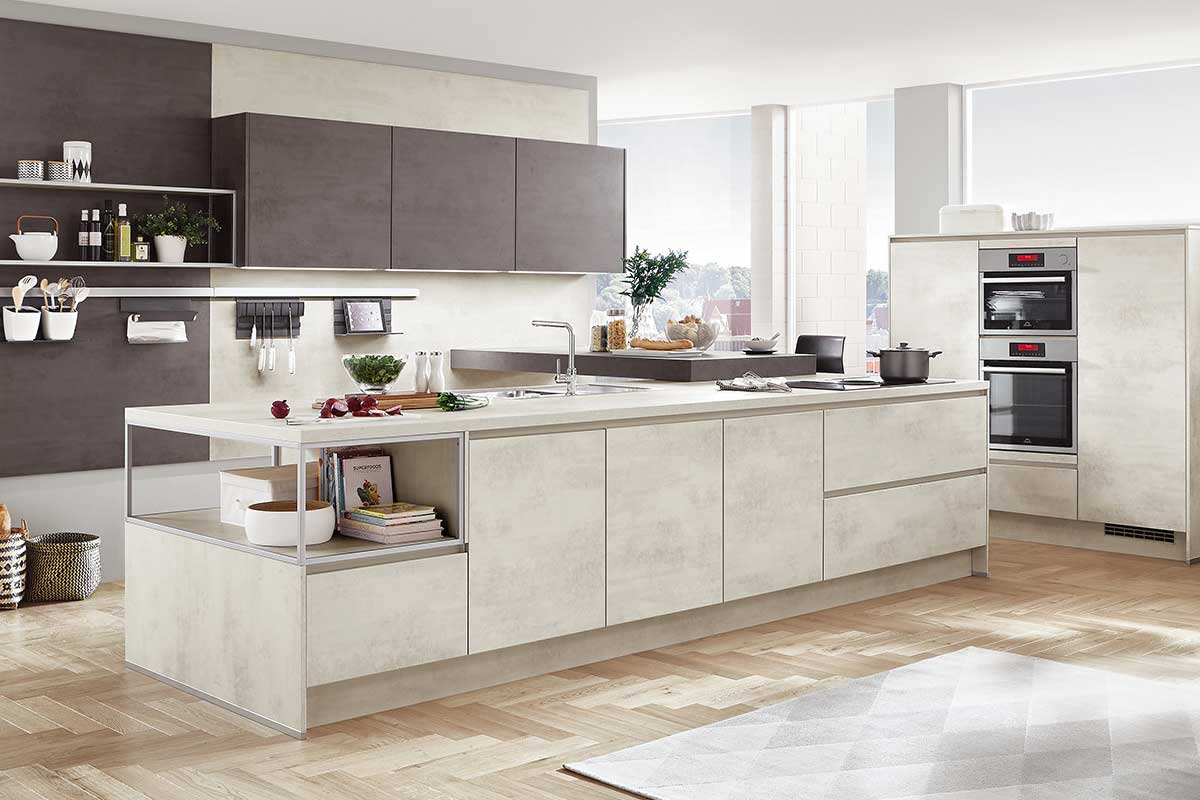 moderne k che k che kaufen k chenstudio k chenplaner k chenplanung musterk chen. Black Bedroom Furniture Sets. Home Design Ideas
