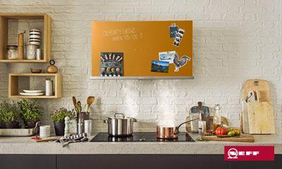 Kreative dunstabzugshauben von neff für kreative küchen. küche